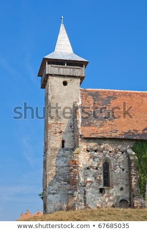 Santimbru reformed church Stock photo © igabriela