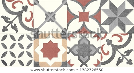 Textured background red ceramic tile. stock photo © scenery1