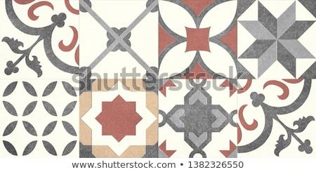 diseno · interior · moderna · rojo · interior · de · la · cocina · diseno · limpio - foto stock © scenery1