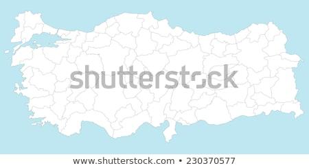 mappa · Ankara · fuori · amministrativa · quartiere · strada - foto d'archivio © istanbul2009