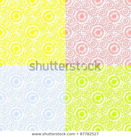 Floral wallpaper modèle fleur Photo stock © jul-and