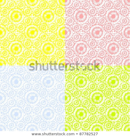 бесшовный цветочный обои шаблон цветок Сток-фото © jul-and