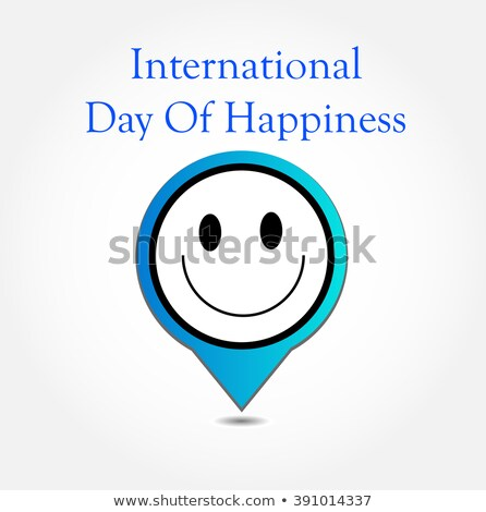 Placement showing a smiley symbolizing the International Day of Happiness- Commemorative Day March 2 Stock photo © shawlinmohd