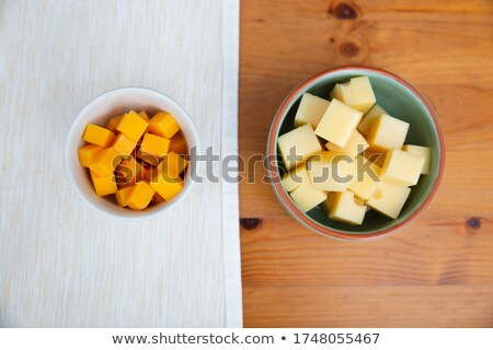 diced cheese stock photo © digifoodstock