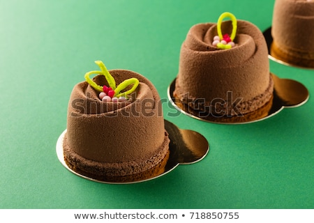 Mini chocolate dessert cake Stock photo © Digifoodstock