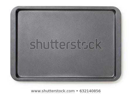 bolo · mistura · estanho · mãos - foto stock © coprid