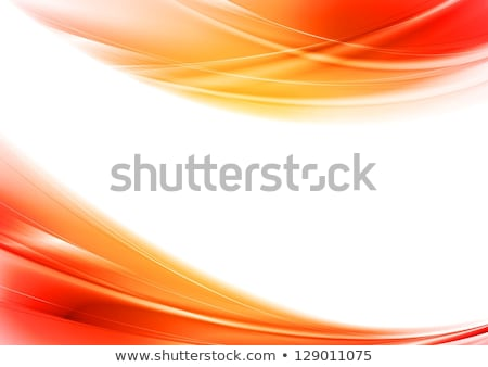 Contrast abstract red orange gradient background Stock photo © saicle