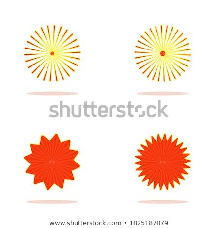 vermelho · bolha · ícone · distintivo · luz · sangue - foto stock © molaruso