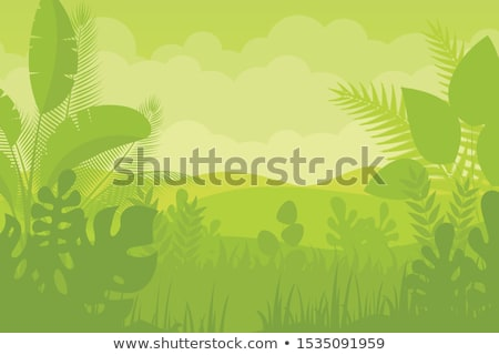 lighting jungle background ,vector Stock photo © kkunz2010