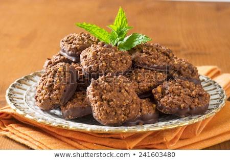 Organic Quinoa Chocolate Cookies Stock photo © Digifoodstock