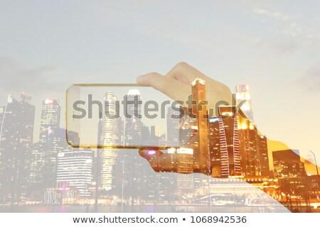 Vandaag montage digitale grafiek detailhandel Stockfoto © shutter5