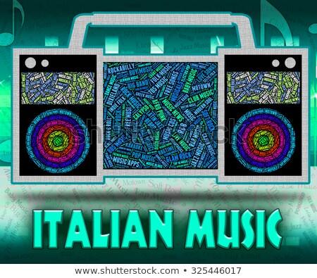 indie · müzik · ses · izlemek · bağımsız - stok fotoğraf © stuartmiles