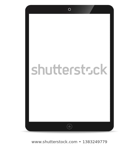 moderno · realista · comprimido · vetor · eps10 · telefone - foto stock © loopall