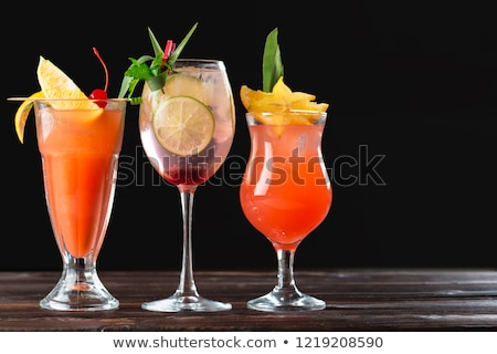 Stock photo: summer cold drinks