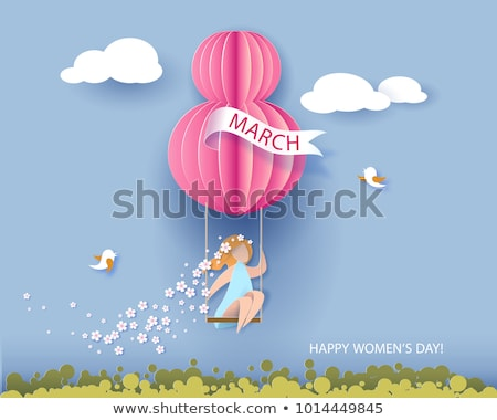 8 March Womens  Stock photo © Olena