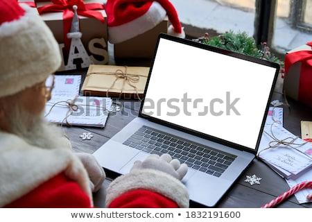 Gift voucher  Santa Claus  Stock photo © Olena
