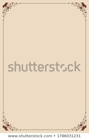 Хэллоуин открытки дизайна полнолуние Сток-фото © Sonya_illustrations