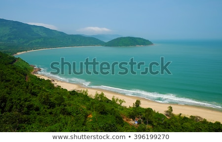 landscape, beach, Vietnam, seaside, eco, green Stock photo © xuanhuongho