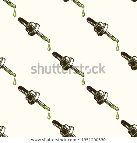 falling cannabis seamless stock photo © romvo