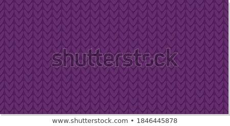 бесшовный трикотажный шаблон красный белый Сток-фото © ESSL