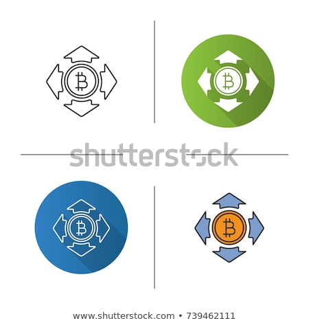 Stock photo: Expanse Cryptocurrency - Vector Colored Logo.