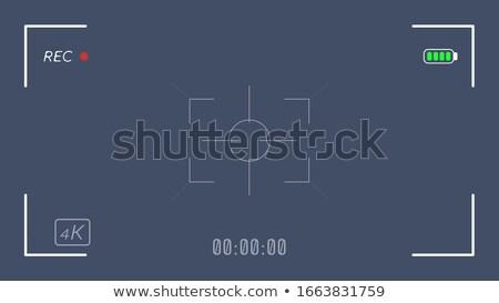 4K video camera viewfinder transparent Stock photo © romvo