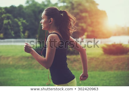 Jogging In The Morning Stock photo © MilanMarkovic78