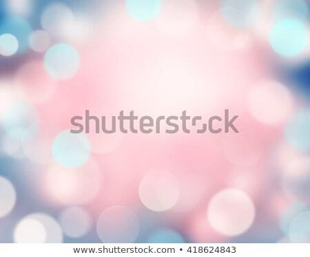 Pálido roxo branco turva bokeh luzes Foto stock © TasiPas