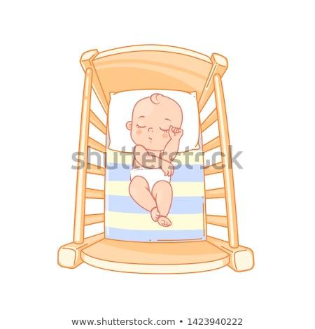 Bastante pequeño nino cute color Foto stock © robuart