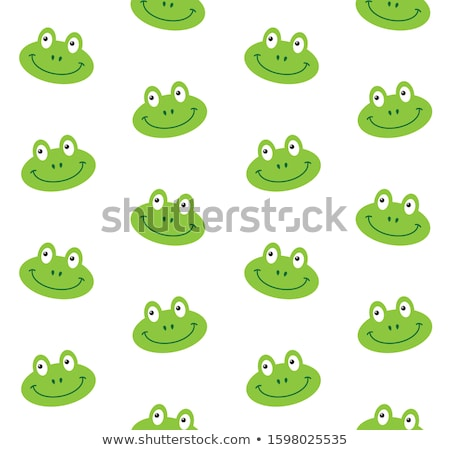 Pets flat illustration semless pattern concept. Wildlife and home zoo animals vector design icons. Stock photo © Linetale