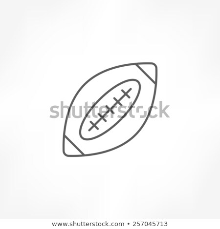 American Rugby Union Player Badge Stock photo © patrimonio