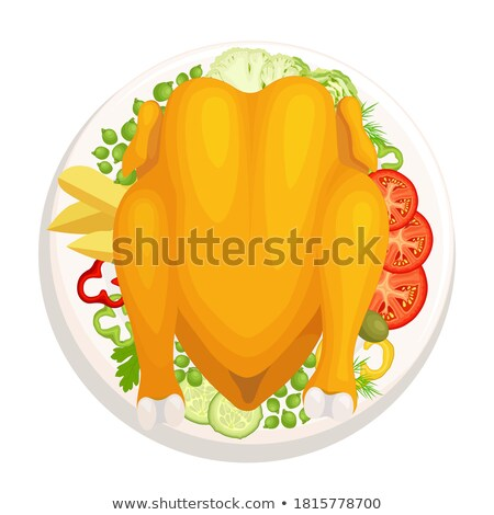 Turchia ringraziamento giorno principale piatto icona Foto d'archivio © robuart