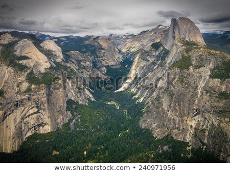 yosemite valley view stock photo © vichie81