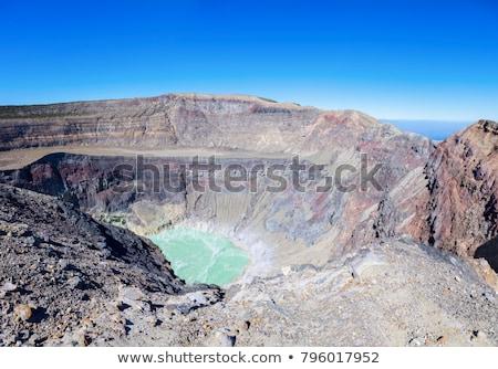 Bent mikulás vulkán El Salvador égbolt természet Stock fotó © benkrut