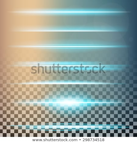 creative vector illustration of futuristic light effect stock photo © tashatuvango