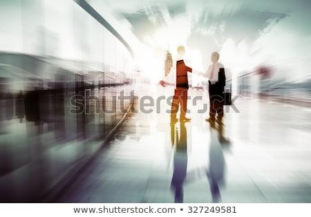 Business internazionale collaborazione accordo internazionali miglioramento business Foto d'archivio © robuart