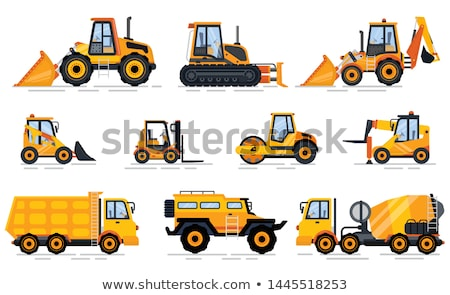Off-road Car, Tractor and Forklift, Build Vector Stock photo © robuart