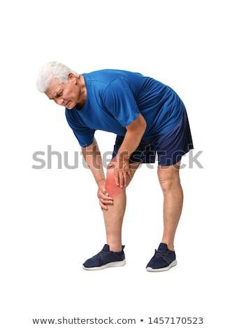 Man Having Knee Pain Stock photo © AndreyPopov