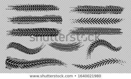 dirty curve winding road abstract background design Stock photo © SArts