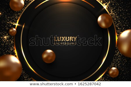grand open golden premium dark invitation banner design Stock photo © SArts