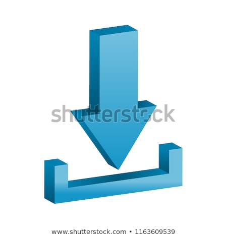 3d download icon Stock photo © cidepix