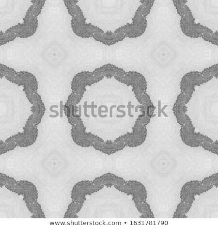 Gebreid brief driehoek christmas banner Stockfoto © ShustrikS
