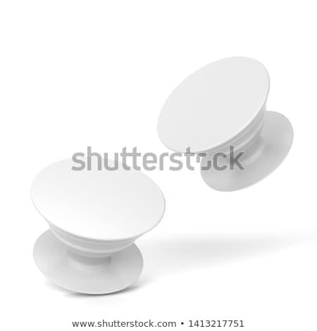 Telefon pop foglalat vázlat 3d illusztráció izolált Stock fotó © montego
