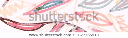 Chic klaprozen doek mooie bloemen licht Stockfoto © lypnyk2