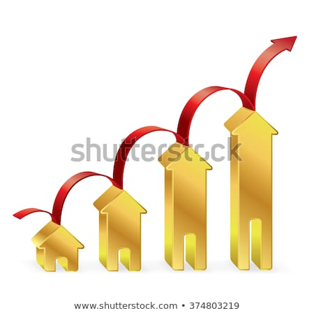 growing home sales graphic design stock photo © rufous