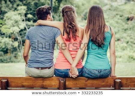 Love triangle Stock photo © imarin