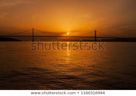 April Sunset Stock photo © suerob