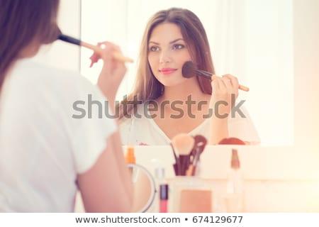 imagem · feminino · branco · biquíni · banhos · de · sol - foto stock © lithian