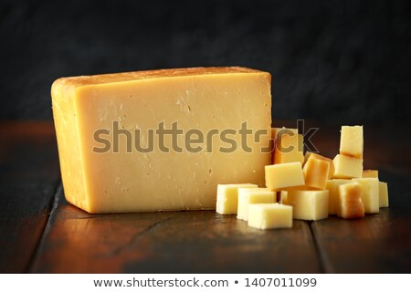 Wędzony ser kozi bochenek biały żywności tłuszczu Zdjęcia stock © joker