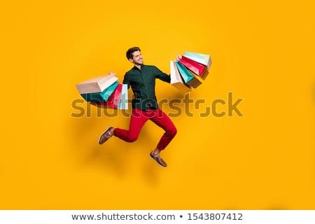 Homem numeroso moda compras Foto stock © photography33